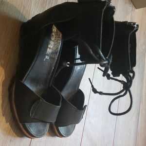 Sorel wedge sandals